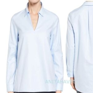 Nordstrom Collection S Popover Oxford Blue